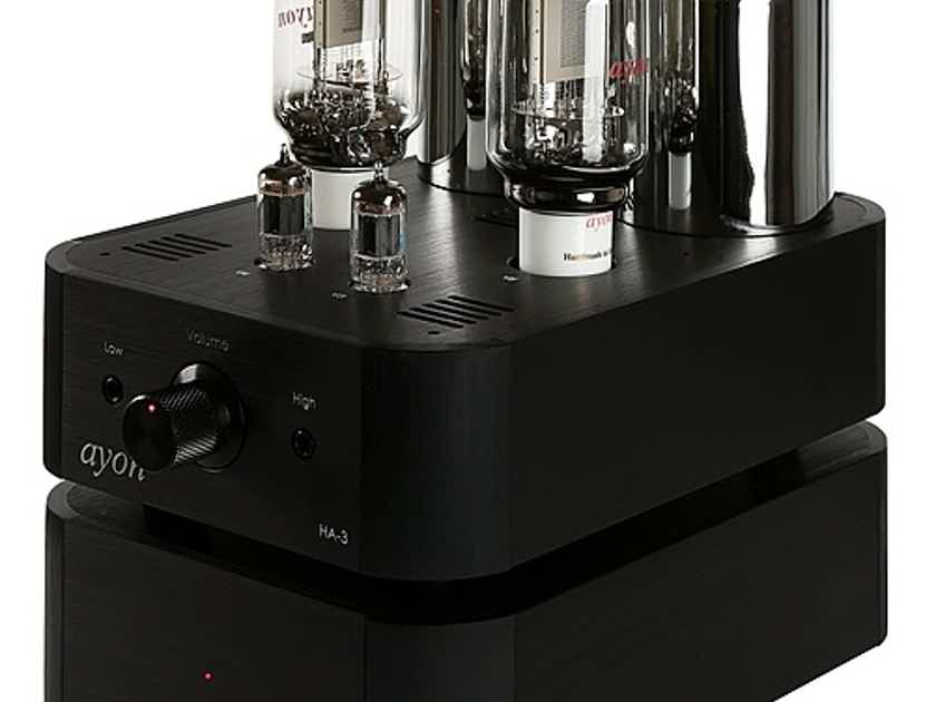 AYON AUDIO  HA-3 VACUUM TUBE HEADPHONE AMP AWARD WINNING 8 YEARS RUNNING