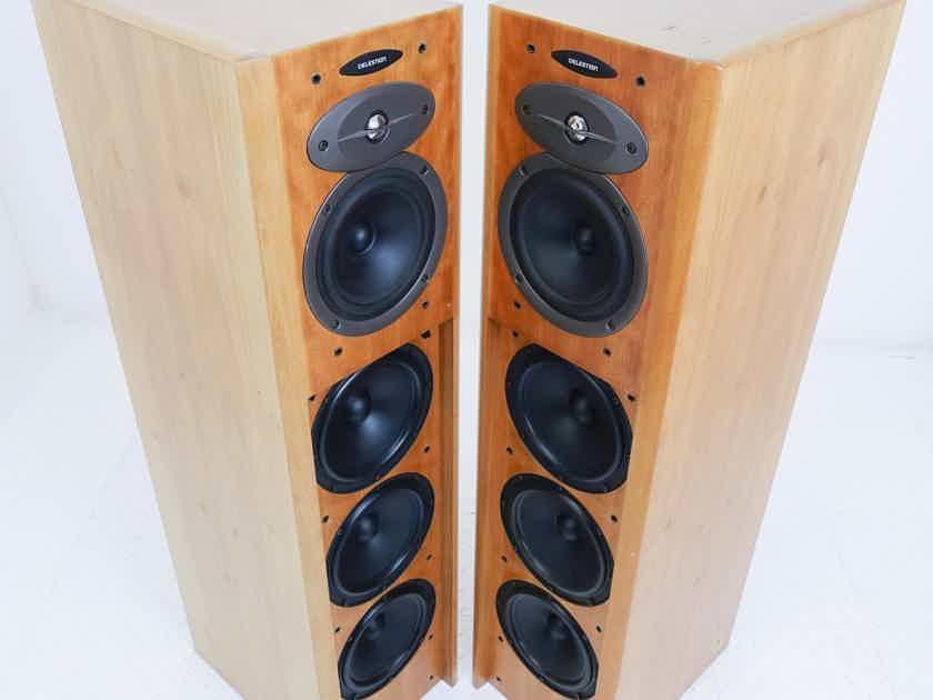 Celestion A3 Floorstanding Speakers; A-3; Cherry Pair (16268)