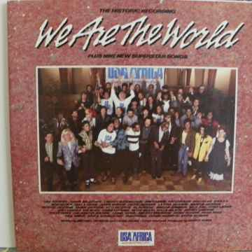 WE ARE THE WORLD - THE HISTORIC RECORDING NM