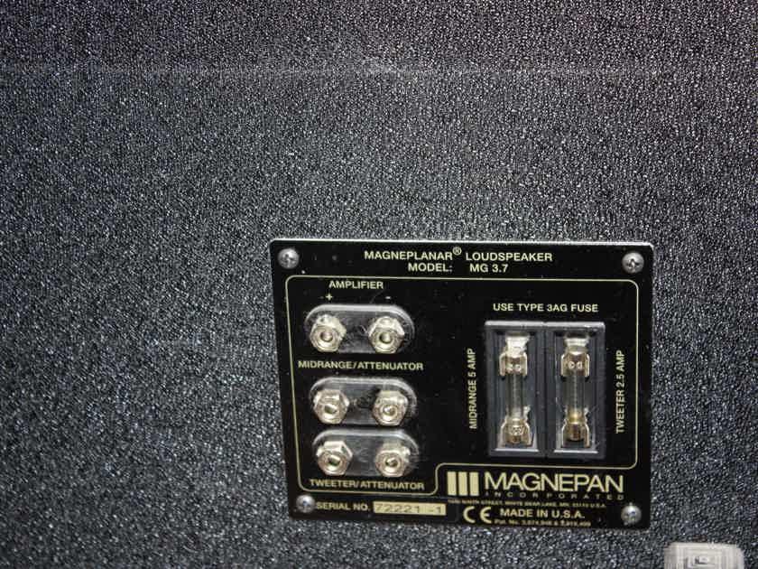 Magneplanar 3.7 Planar speakers