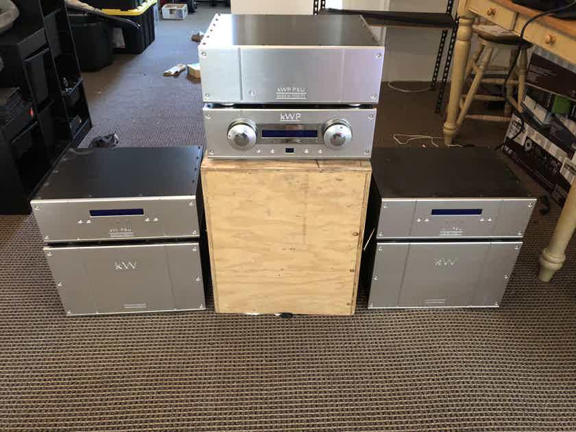 Musical Fidelity TriVista kW amp Monobloc 1000W (PAIR)