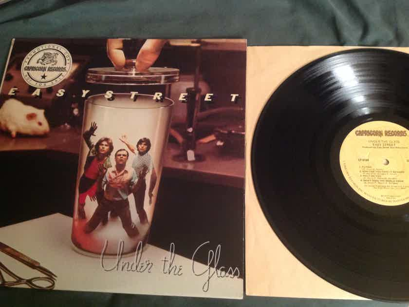 Easy Street  Under The Glass Capricorn Records Promo LP