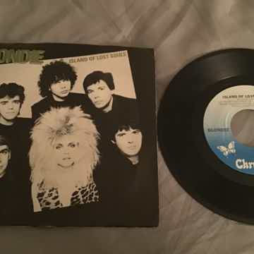 Blondie 45 With Picture Sleeve Vinyl NM  Islands Of Los...