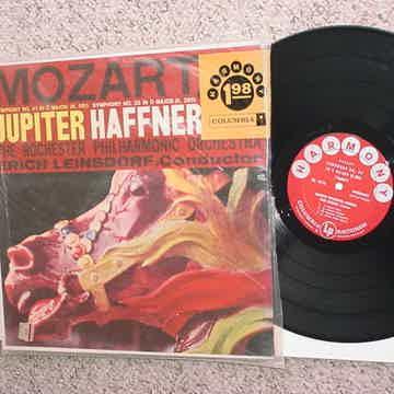 Classical Mozart Jupiter Haffner lp record symphony no 41 C major no 35 D major