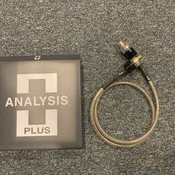 Analysis Plus Inc.  Ultimate Power Oval power cord