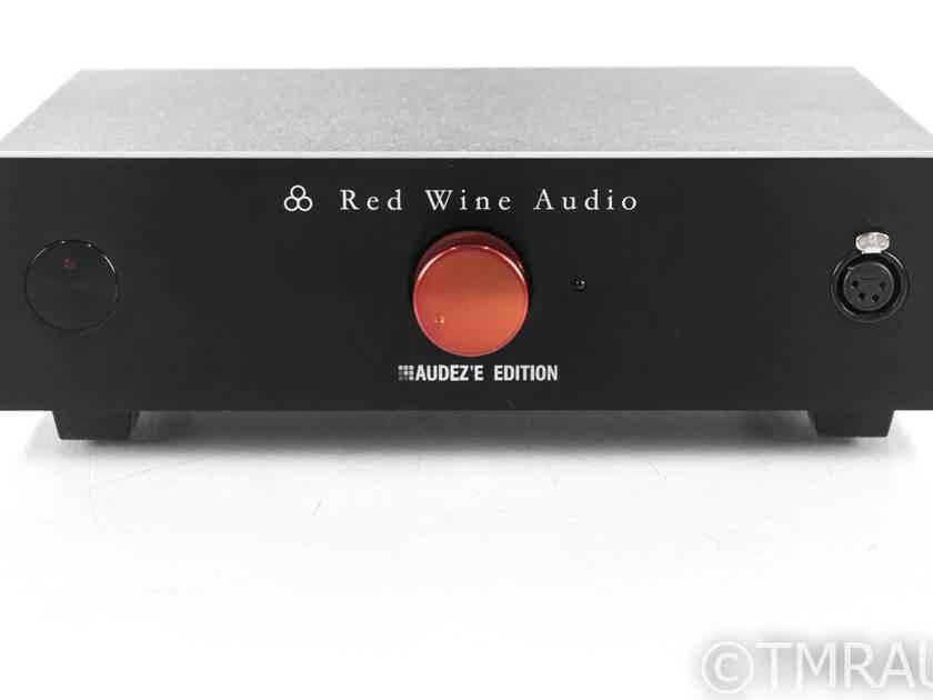 Red Wine Audio Audeze Edition Tube Headphone Amplifier / DAC; Pelican Case (21088)