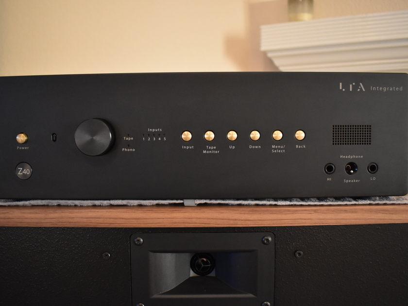 Linear Tube Audio Z40 Integrated, ZOTL, NOS Mullard XF2 EL34, Level 2 Phono Preamp