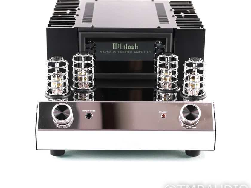 McIntosh MA252 Stereo Integrated Tube Hybrid Amplifier; MA-252; MM Phono; Remote (28728)