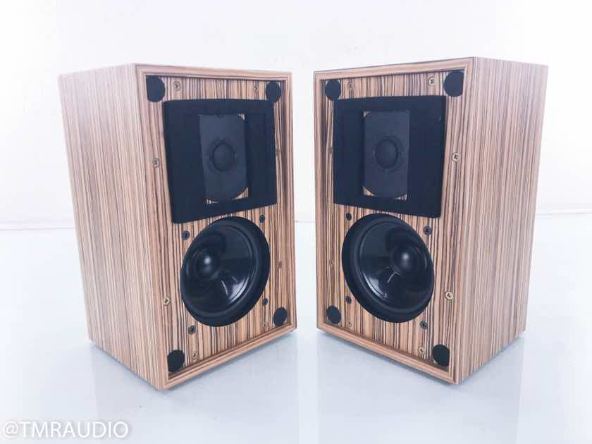 Stirling LS3/5a V2 Limited Edition Bookshelf Speakers Zebrano Pair (14891)
