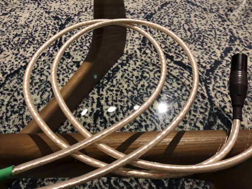 Nordost  Valhalla Genuine 1M Pair DEMO XLR Cable Factory Nordost