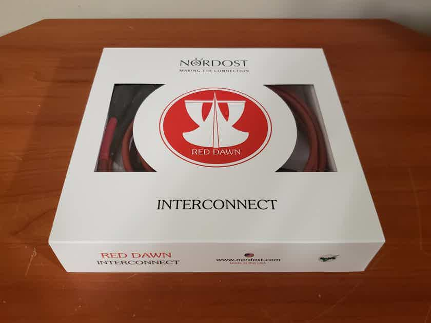 Nordost Red Dawn Leif Series Balanced XLR Interconnect Cables. 1.5 Meter. Save over 53%.