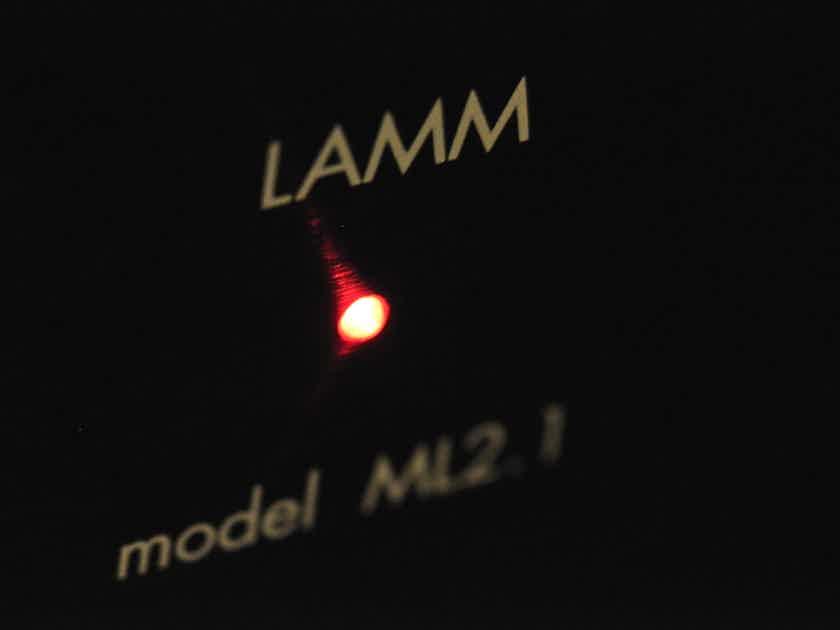 Lamm ML2.1 18 Watts of pure magic