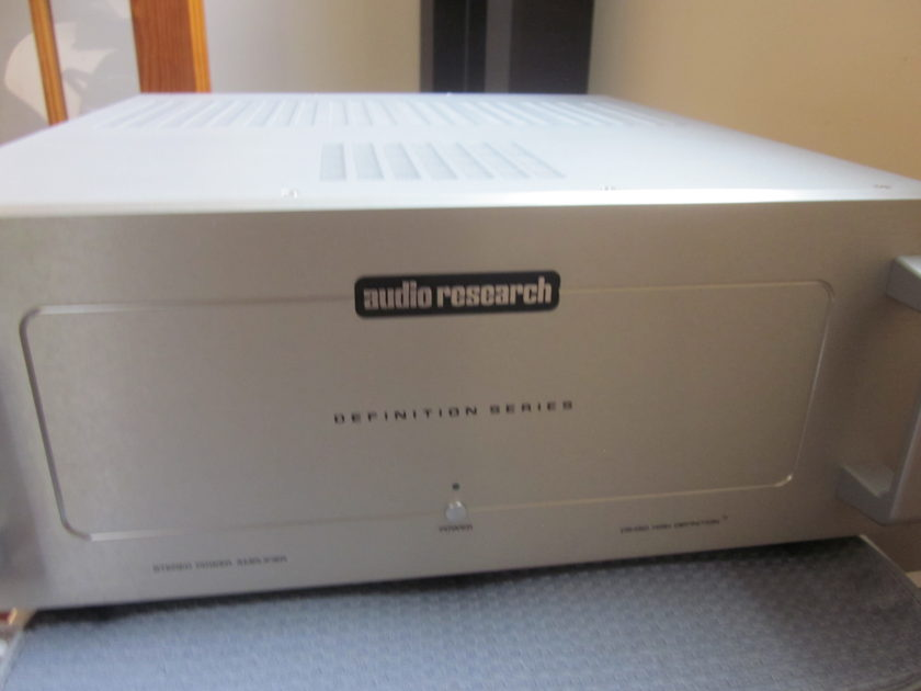 Audio Research DS450 Stereo Solid State Amplifier