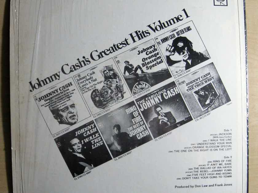 Johnny Cash - Greatest Hits Volume 1 - Reissue Columbia PC 9478
