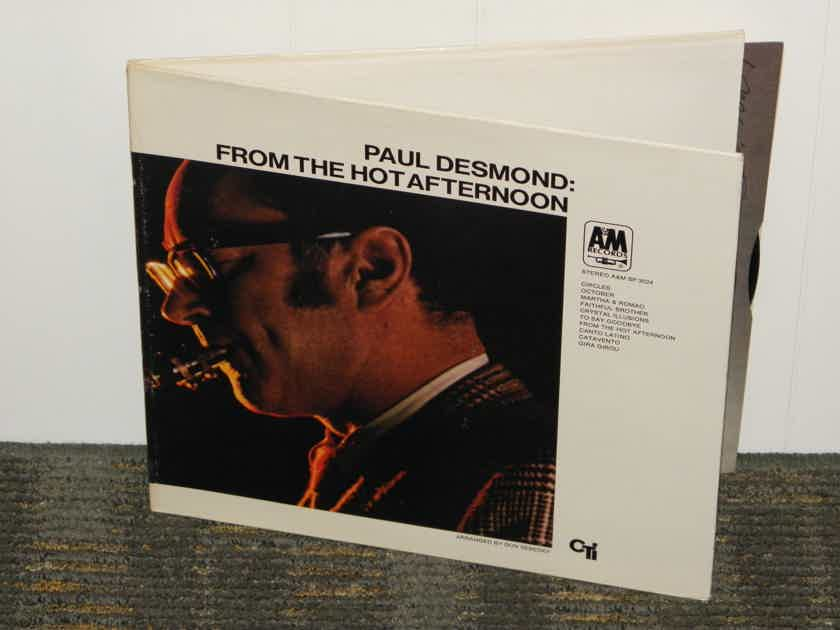 Paul Desmond    From The Hot - Afternoon. A&M  SP-3024