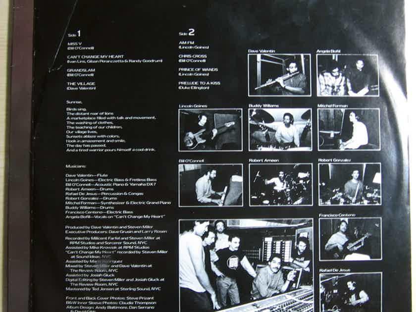 Dave Valentin - Light Struck - 1986 GRP GRP-A-1028