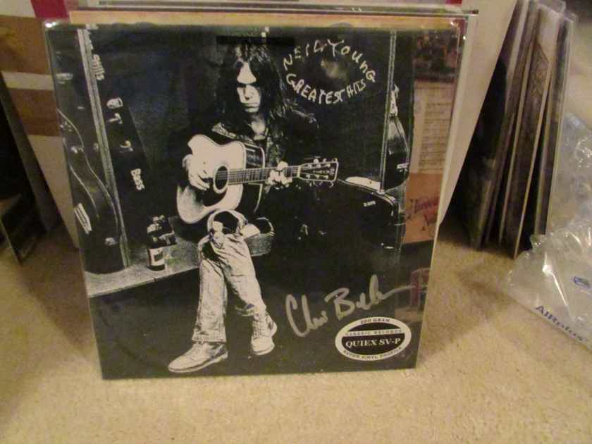 """Neil Young - Greatest Hits with 7"""" Colored Vinyl single Classic Records 200g Quiex SV-P Sealed - 3 records total"""