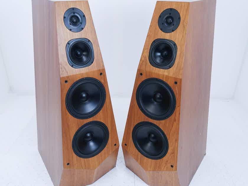 Sony SS-M9 Vintage Floorstanding Speakers Cherry Pair (16226)