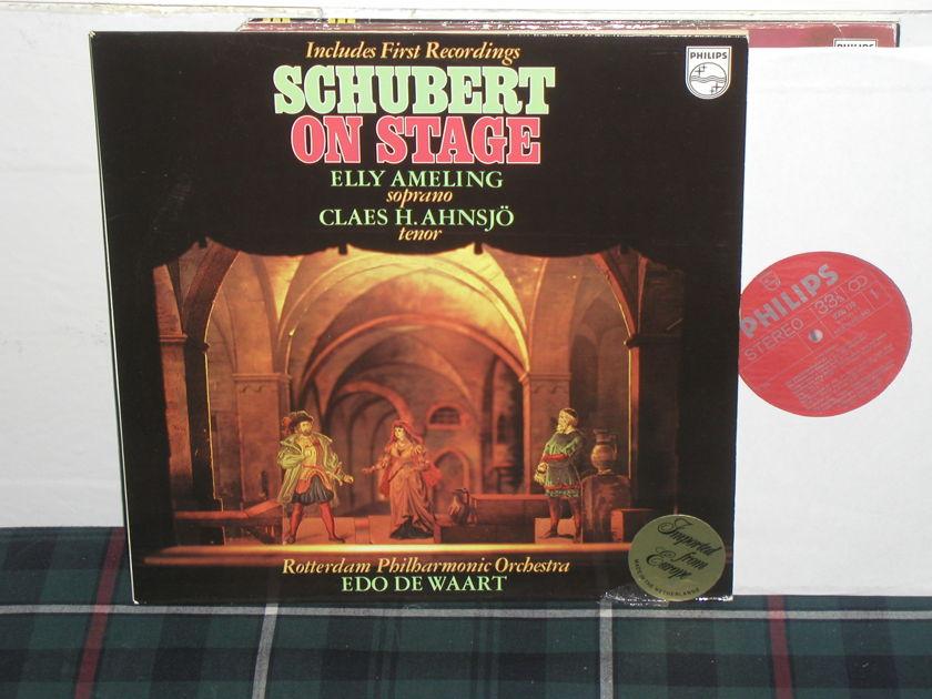 Ameling/De Waart/RPO - Schubert On Stage Philips Import pressing 9500 170