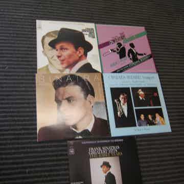 5 Frank Sinatra LPs, Radio Yeas, Greatest hits, Rarities