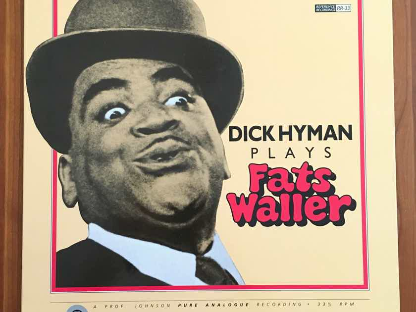 AUDIOPHILE: DICK HYMAN Plays FATS WALLER RR-33 Prof Johnson Pure Analogue... $16