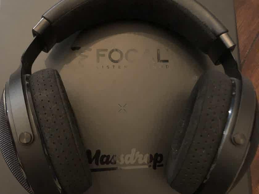FS: Massdrop x Focal Elex Open Back Headphones with extras
