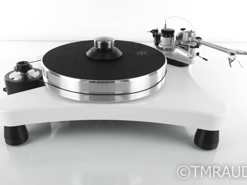 "VPI Super Prime Scout Turntable; 10.5"" JMW Tonearm; White w/ VTA On-The-Fly (19268)"