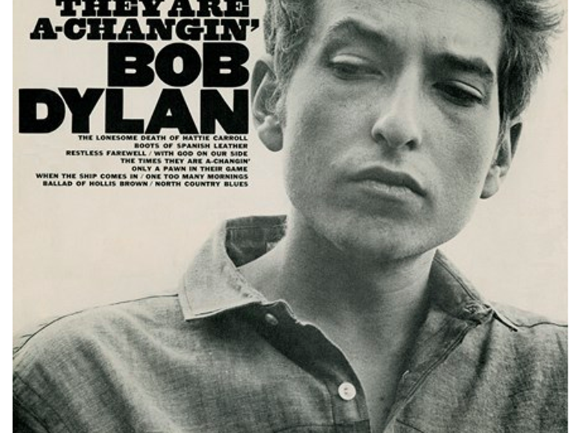 Bob Dylan - The Times They Are a Changin' - MFSL 45rpm Mono  Limited to 3,000 Numbered, 180g 45rpm 2LPs - New/Sealed