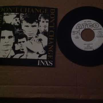 Inxs - Don't Change Atco Records Promo Single Mono/Ster...