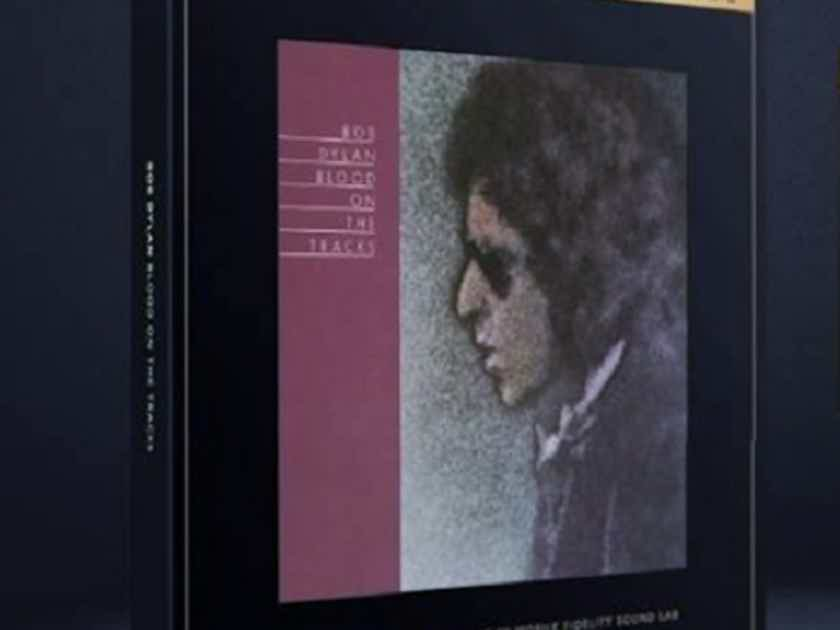 Bob Dylan ~ Blood On The Tracks ~  Factory Sealed MFSL UltraDisc One-Step 2LP 45RPM