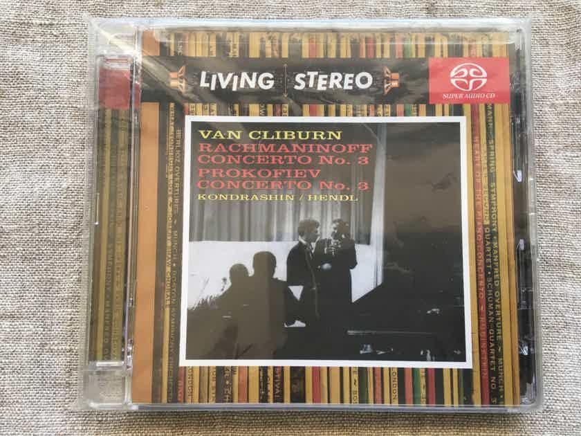 Van Cliburn Rachmaninoff piano concerto 3