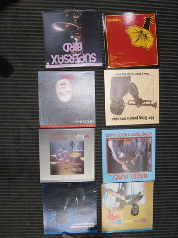 8 Audiophile Jazz LPs, MFSL, Sheffield