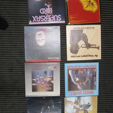 8 Audiophile Jazz LPs, MFSL, Sheffield Harry James, Buddy Rich, Montgomery, Bases, EX