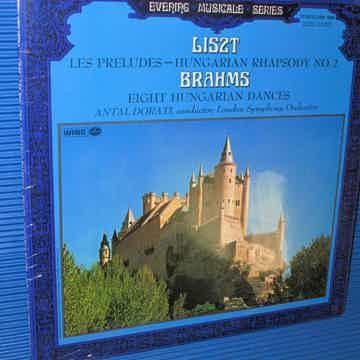"""LISZT / BRAHMS / Dorati  - """"Les Preludes & Hungarian Rh..."""