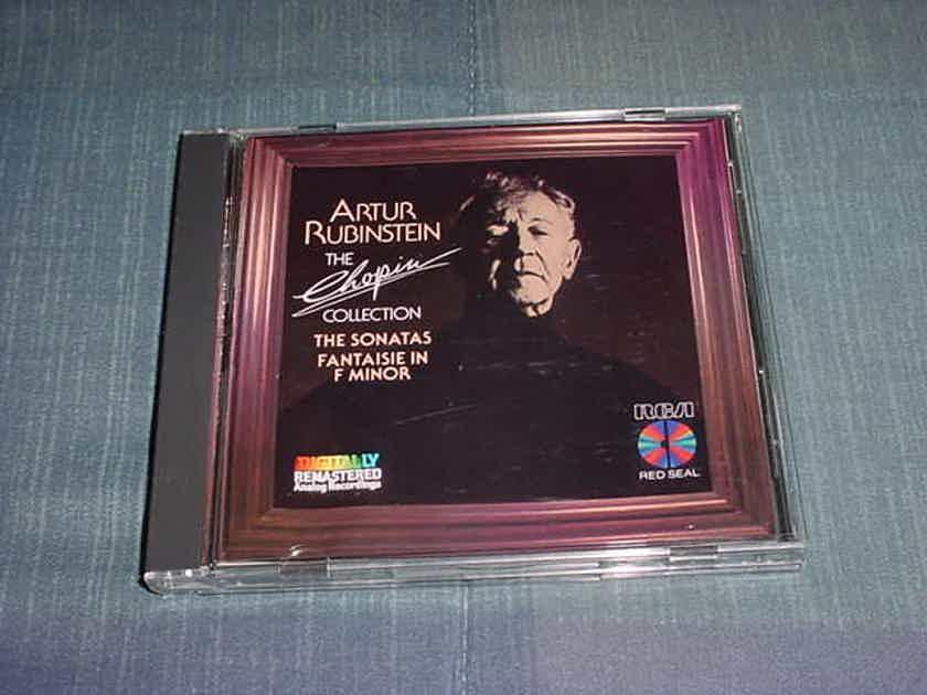 Artur Rubinstein the Chopin Collection the sonatas fantaisie in F Minor cd analog