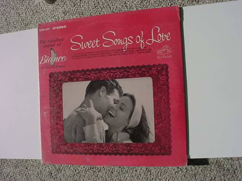Sealed BIANCO His harp and orchestra - sweet songs of love lp record 1964 RCA CSP-107 SEE ADD