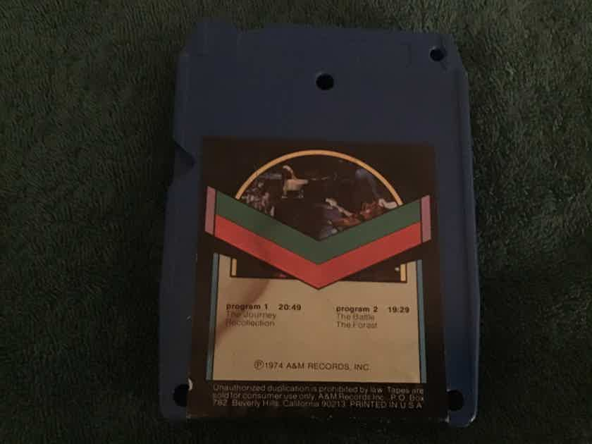 Rick Wakeman  Journey To The Centre Of The Earth Quadraphonic 8 Track