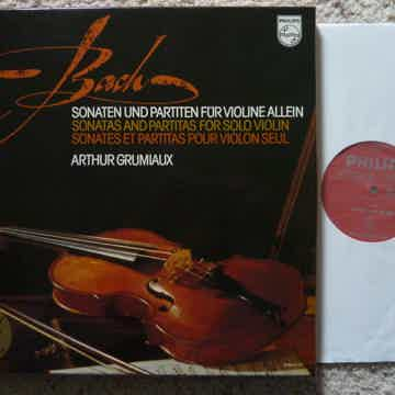 BACH FOR SOLO VIOLIN SONATAS AND PARTITAS