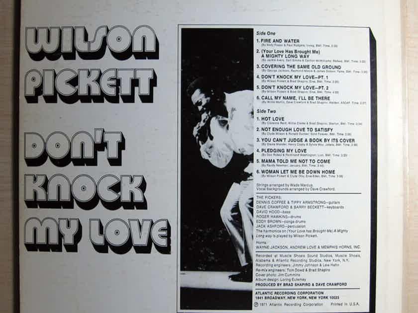 Wilson Pickett - Don't Knock My Love EX+ REISSUE Vinyl LP Atlantic Records SD 8300
