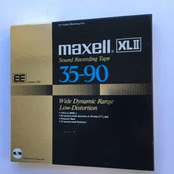 Maxell 35-90 reel to reel tape  XLII 7 inch looks unused
