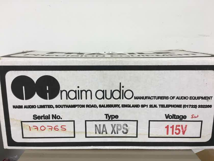 Naim Audio XPS with black burndy