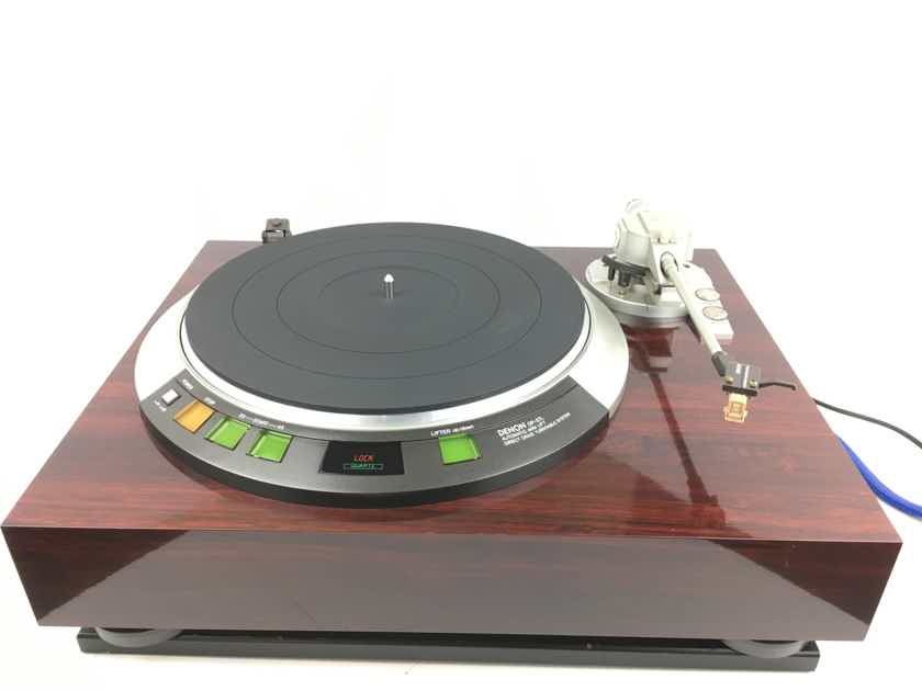Denon DP-57L Turntable with New Grado Cartridge