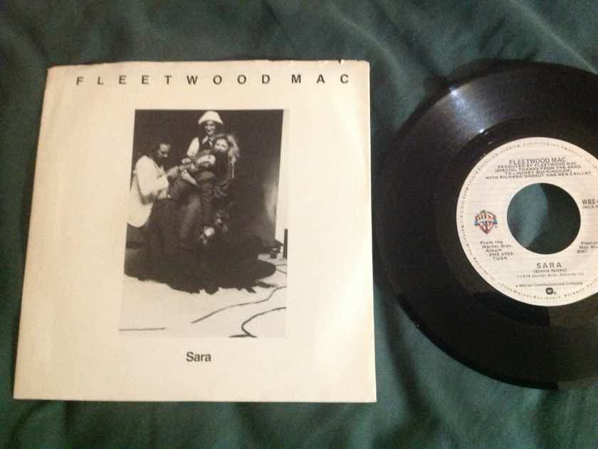 Fleetwood Mac - Sara/That's Enough For Me Warner Brothers Records 45 Single With Picture Sleeve NM
