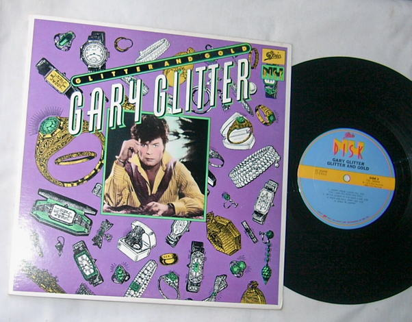 GARY GLITTER - GLITTER AND GOLD -