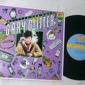 "GARY GLITTER - GLITTER AND GOLD - - RARE 1980 PROMO 10""..."