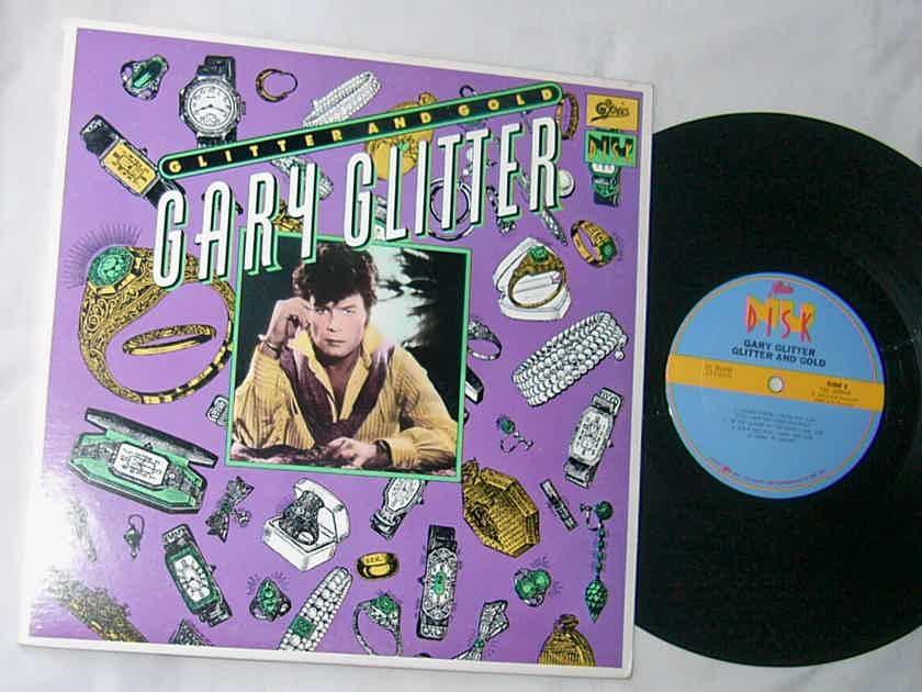 "GARY GLITTER - GLITTER AND GOLD - - RARE 1980 PROMO 10"" LP -  NU DISK / EPIC"