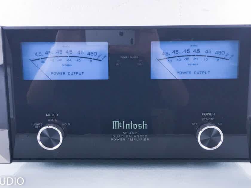 McIntosh MC452 Quad Balanced Stereo Power Amplifier MC-425 (14799)