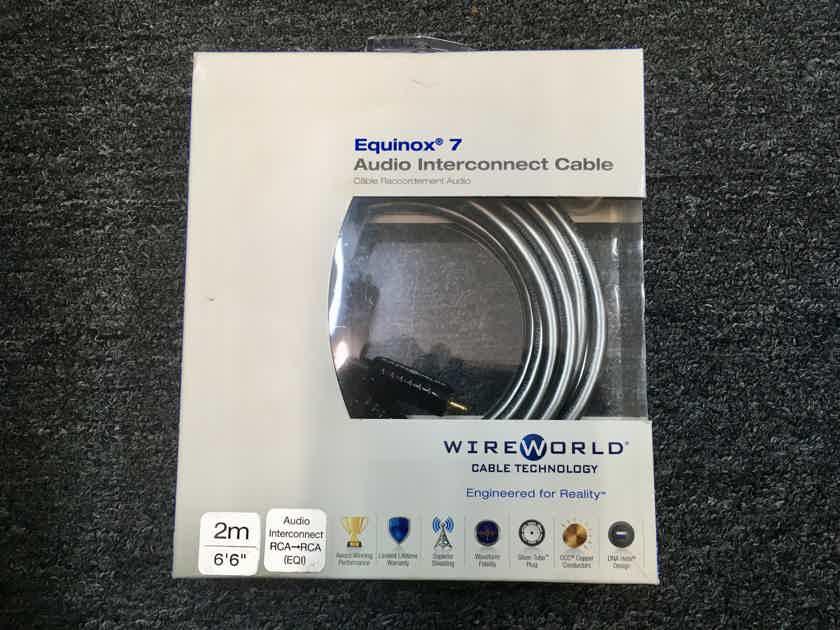 Wireworld Equinox 7 RCA 2M NEW in box