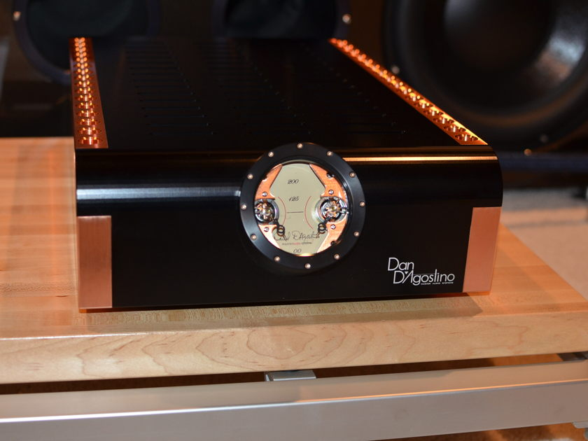 Dan D,Agostino Inc. Momentum S200 Stereo Amp in black!