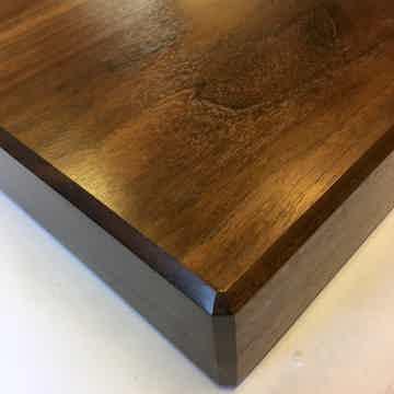 Timbernation Walnut Flat Grain Stereo Isolation Platform, Turntable Platform,